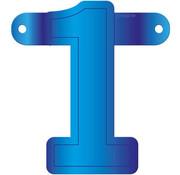 Letterslinger 1 Blauw