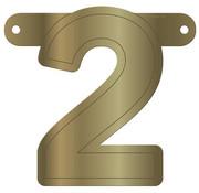 Letterslinger 2 Metallic Goud