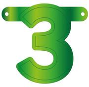 Letterslinger 3 Lime Groen