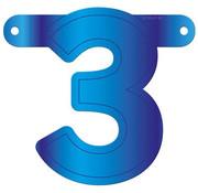Letterslinger 3 Blauw