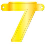 Letterslinger 7 Geel