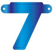 Letterslinger 7 Blauw