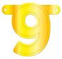 Letterslinger 9 Geel