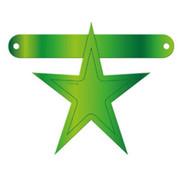 Letterslinger Ster Lime Groen