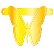 Letterslinger Vlinder Geel