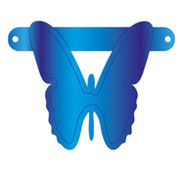 Letterslinger Vlinder Blauw