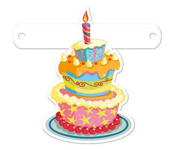 Letterslinger Verjaardagstaart