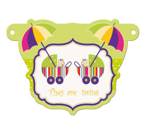 Letterslinger Tweeling Geboorte