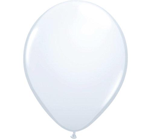 Witte Ballonnen 30cm - 10 stuks