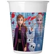 Bekers Frozen 2 200ml - 8 stuks