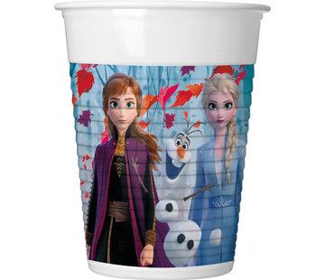 Frozen 2 bekers 200ml - 8 stuks