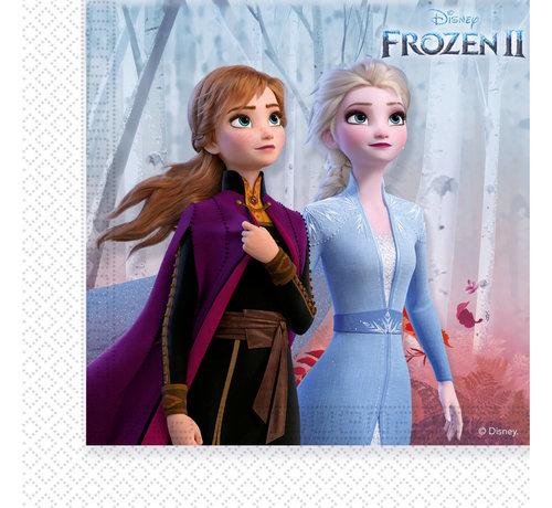 Servetten Frozen 2 33x33cm - 20 stuks
