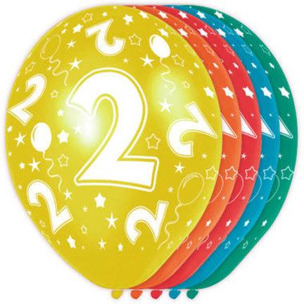 Goedkoop verjaardag ballonnen 2 jaar online kopen