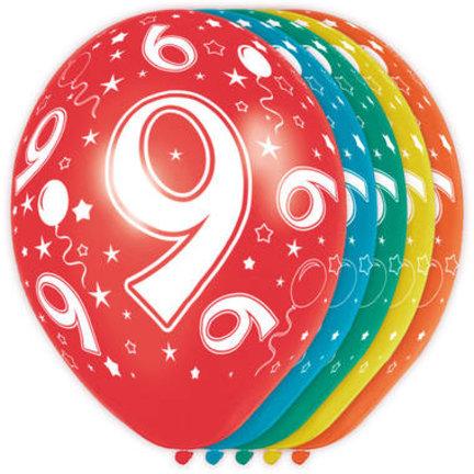 Goedkoop ballonnen 9 jaar online kopen