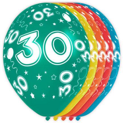 Goedkoop ballonnen 30 jaar online kopen
