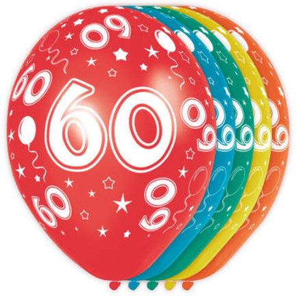 Goedkoop ballonnen 60 jaar online kopen