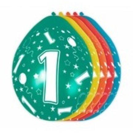 Goedkoop verjaardag versiering 1 jaar online kopen