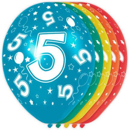 Goedkoop verjaardag versiering 5 jaar online kopen