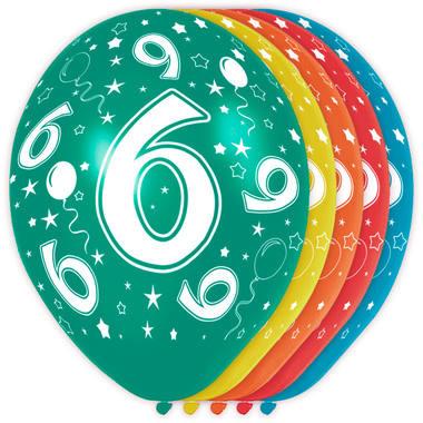 Verjaardag versiering 6 jaar