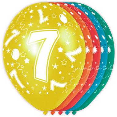 Verjaardag versiering 7 jaar