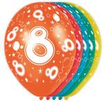 Verjaardag versiering 8 jaar