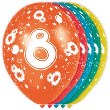 Goedkoop verjaardag versiering 8 jaar online kopen