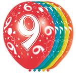 Verjaardag versiering 9 jaar