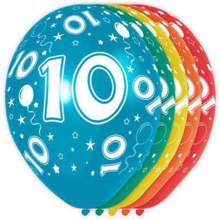 Goedkoop verjaardag versiering 10 jaar online kopen