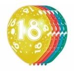 Verjaardag versiering 18 jaar