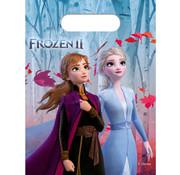Uitdeelzakjes Frozen 2 - 6 stuks