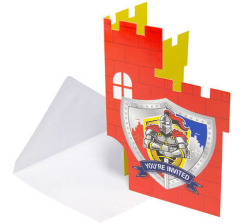 Ridder Uitnodigingen - 8 stuks