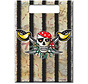 Rode Piraten Uitdeelzakjes - 8 stuks