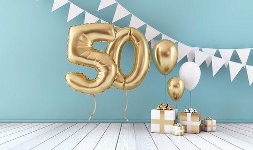 Verjaardag 50 jaar vieren: 6 ideeën voor een onvergetelijk feest