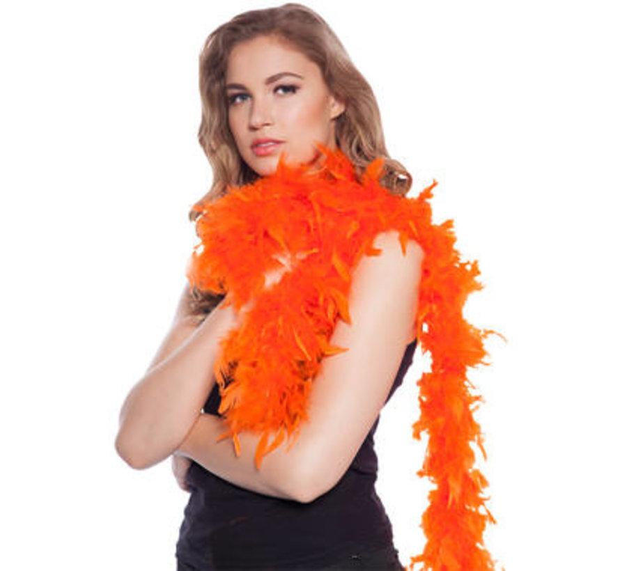 Luxe Boa Oranje - 180cm