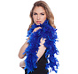 Luxe Boa Blauw - 180cm