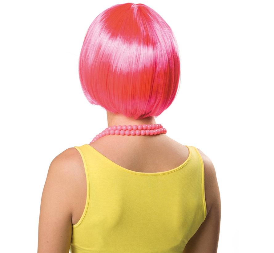 Bob Pruik Neon Roze