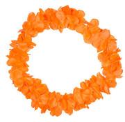 Hawaii Krans Neon Oranje - 9,5cm