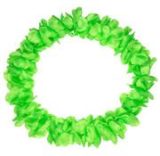 Hawaii Krans Neon Groen - 55cm