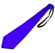 Stropdas Metallic Blauw - 30cm