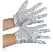 Glitter handschoenen Michael Jackson
