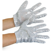 Glitter handschoenen Michael Jackson - kindermaat
