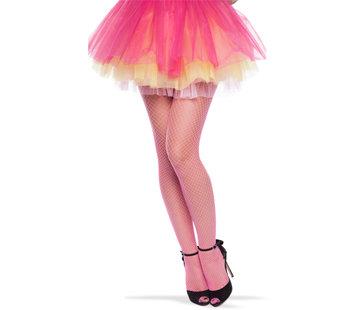 Neon Roze Visnet Panty