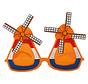 Molen Feestbril Oranje