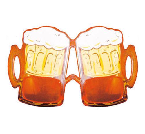 Bierglas Feestbril Oranje