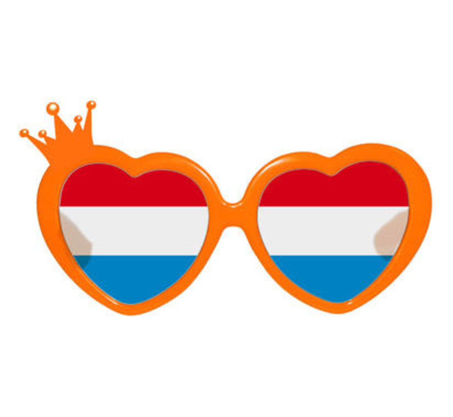 Ik houd van Oranje Feestbril