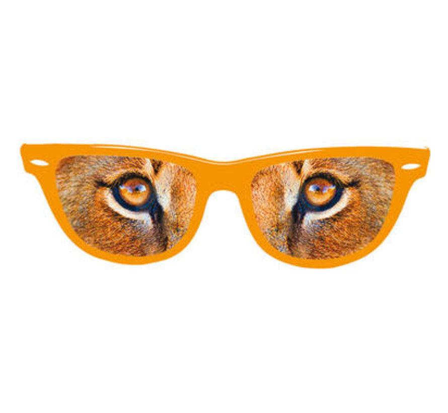 Leeuwenogen Feestbril