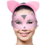 Kat Tiara met Masker Roze