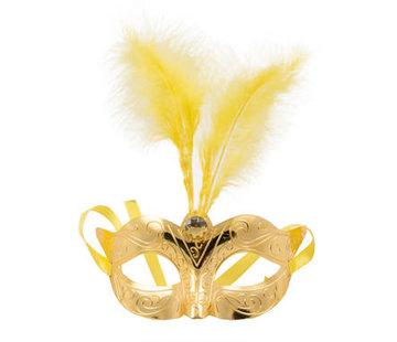 Venetiaans Masker Metallic Goud
