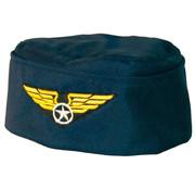 Pet stewardess blauw - 17cm