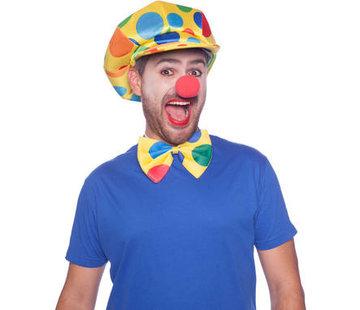 Rode Clowns Feestneus